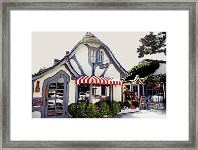 The Tuck Box Court Framed Print by Linda  Parker