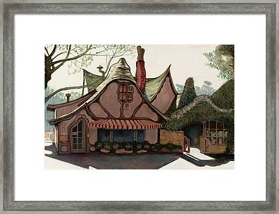 The Tuck Box Framed Print