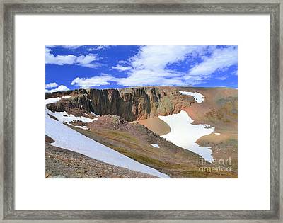 The Tundra Framed Print by Kathleen Struckle