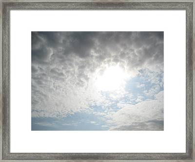 The Tunnel Of Light Framed Print