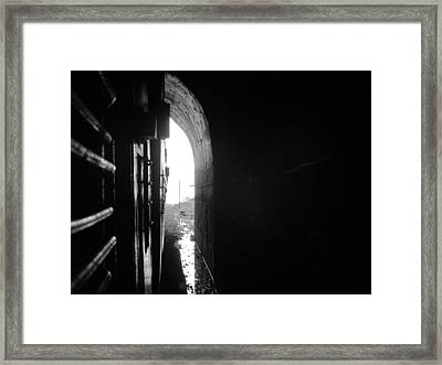 The Tunnel Framed Print by Vinayak Patukale