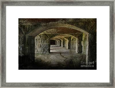 The Tunnels Framed Print