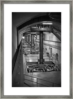 The Turbine Room Framed Print