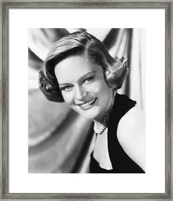 The Turning Point, Alexis Smith, 1952 Framed Print by Everett