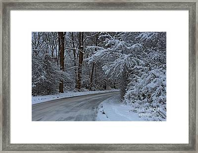 The Turns. Framed Print by Dipali S