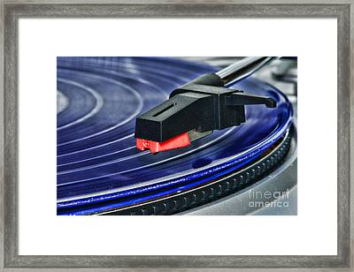 The Turntable Framed Print by Paul Ward