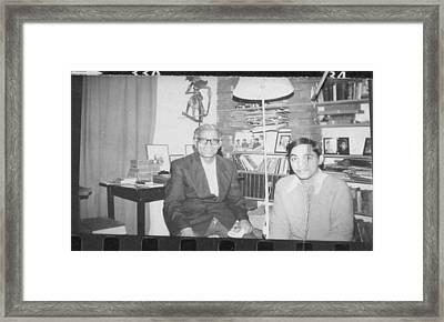 The Tutorial. 1977 Framed Print