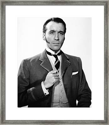 The Two Faces Of Dr. Jekyll, Aka House Framed Print