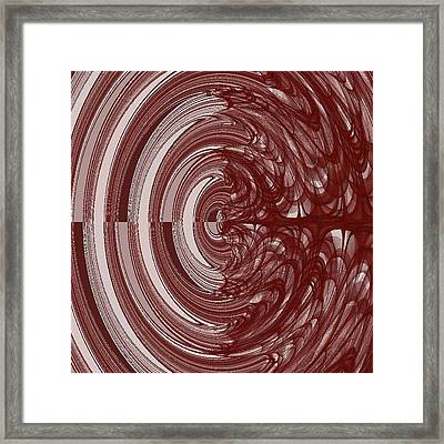 The Two Sides Of Myeloma Framed Print