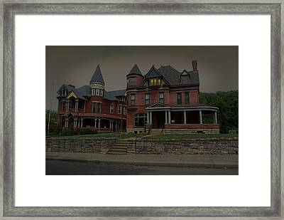 The Two Sisters Haunted House Framed Print by Tim McCullough