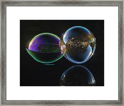 The Two Framed Print by Terry Cosgrave