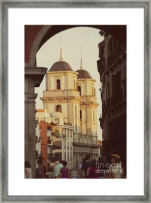 The Two Towers Of Catedral De San Isidro Framed Print