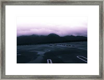 The Typhoon Before The Storm Framed Print by Maia Rose