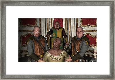 The Tyrant King Framed Print by Robert Crepeau