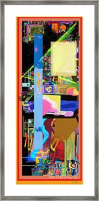 The Tzaddik Lives On Emunah 17 Framed Print