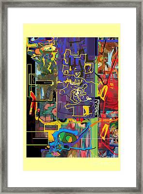 The Tzaddik Lives On Emunah 19 Framed Print