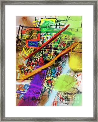 The Tzaddik Lives On Emunah 22b Framed Print