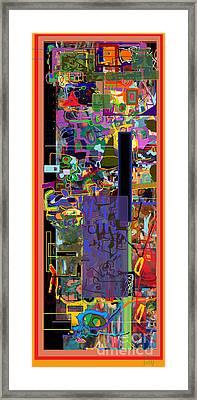 The Tzaddik Lives On Emunah 7 Framed Print
