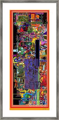 The Tzaddik Lives On Emunah 9 Framed Print