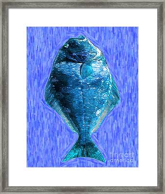 The Ugly Fish 20130723mup180 Framed Print by Wingsdomain Art and Photography