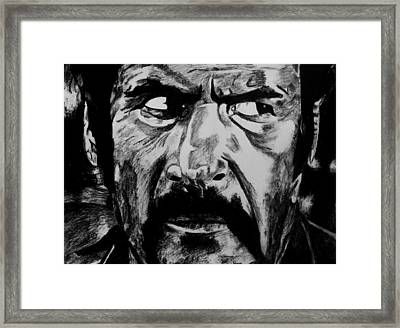 The Ugly Framed Print by Jeremy Moore