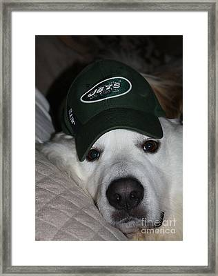 The Ultimate Ny Jet Fan After A Loss Framed Print