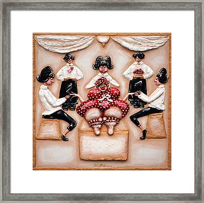 The Ultimate Spa Day Framed Print