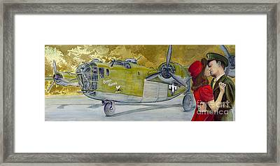 The Unbroken Kiss Framed Print by Michelle Rouch