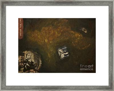 The Underground Framed Print by Kamil Swiatek