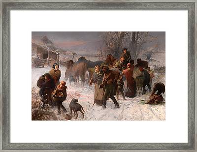 The Underground Railroad Framed Print by Mountain Dreams