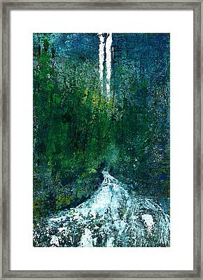 The Undiscovered Waterfall Framed Print by David Seacord