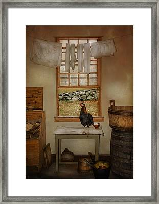 The Unexpected Guest Framed Print