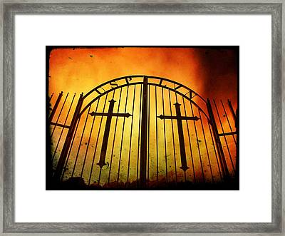 The Unforgiven  Framed Print by Chris Berry