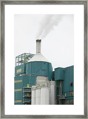 The Unilever Factory In Warrington Framed Print by Ashley Cooper