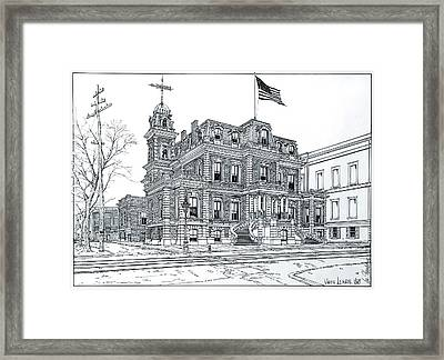 The Union League Philadelphia 1867 Framed Print