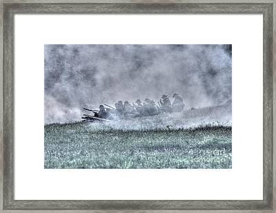 The Union Line Framed Print by Tommy Anderson