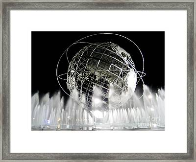 The Unisphere's 50th Anniversary Framed Print