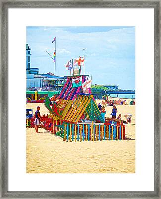 The United Kingdom Of Flags Framed Print