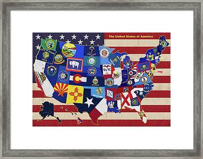 The United States Framed Print