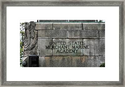 The United States Merchant Marine Academy  Framed Print