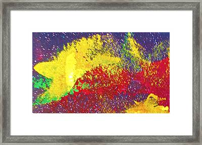The Universal Searching Framed Print by Bruce Combs - REACH BEYOND