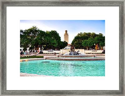The University Of Texas At Austin Framed Print