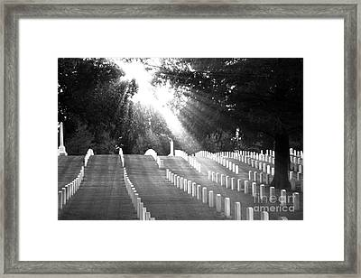 The Unknown Soldiers Framed Print