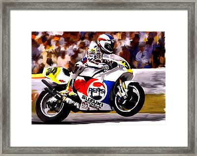 The Unleashing   Kevin Schwantz Framed Print