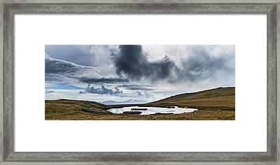 The Unnamed Tarn Framed Print by Steven Garratt
