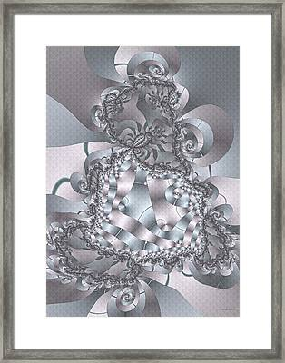 Framed Print featuring the digital art The Unraveling by Owlspook