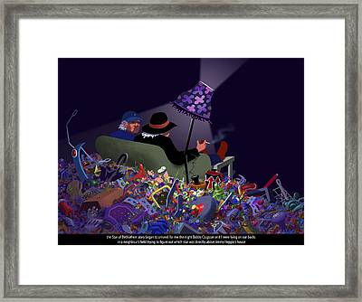 The Unraveling Framed Print