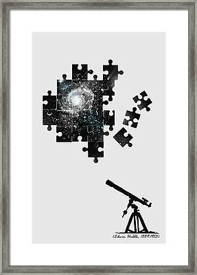 The Unsolved Mystery Framed Print