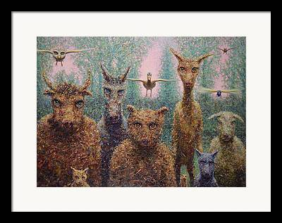 Ecology Paintings Framed Prints