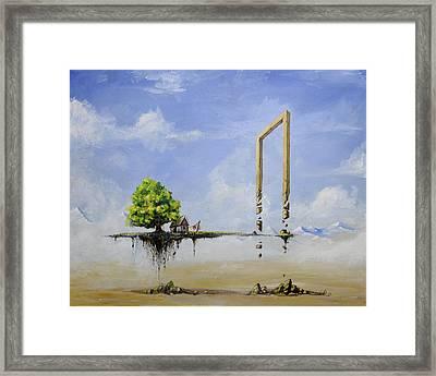 The Untold Story... Framed Print by Mariusz Zawadzki